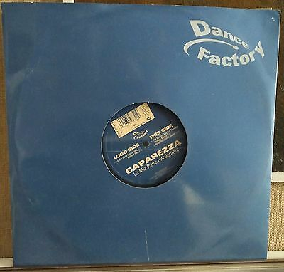 "Caparezza ‎– La Mia Parte Intollerante 12"" Mix Nm 2006 Dance Factory"