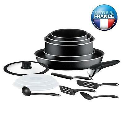Tefal Ingenio Essential Batterie De Cuisine 15 Pieces L