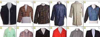 JOB LOT OF 13 VINTAGE JACKETS- Mix of Era's, styles and sizes (17809)*