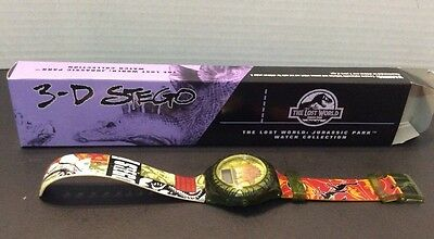 Jurassic Park The Lost World 3-D Stego Watch - Burger King 1997