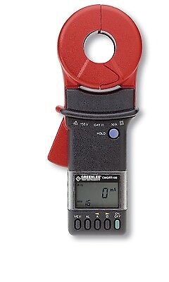 Greenlee CMGRT-100-C Hand Held Clamp-On Ground Rod Earth Resistance Tester Meter