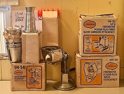 Sunbeam Mixmaster Complete With  6 Attachments