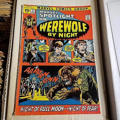 Marvel Spotlight #2 - 1st Appearance of Werewolf by Night, FN- Condition
