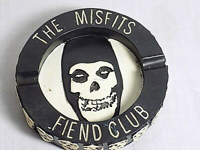 "The Misfits Fiend Club Ashtray - 5"" 2004 Cyclopian Music - Unused"