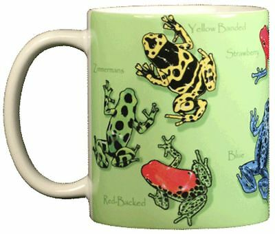 Poison Dart Frogs 11 OZ. Ceramic Coffee Mug or Tea Cup