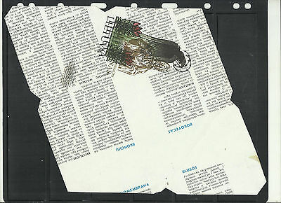 Lithuania Postal Stationary Spectacular Proof Sheet Printed on Both Sides #2