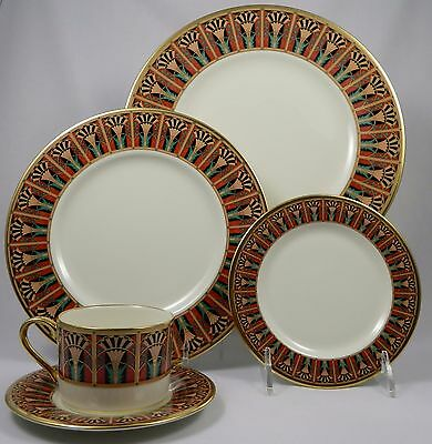 LENOX GRAND TIER LUCIA  5Pc Place Setting (Dinner, Salad, B&B, Cup, Saucer)
