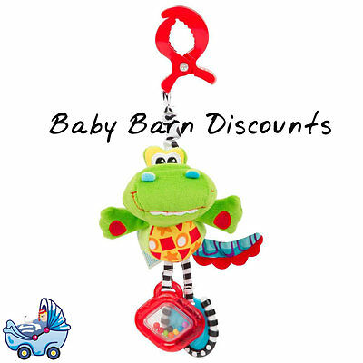 Playgro Dingly Dangly Snappy the Alligator Pram Attachment Activity Toy