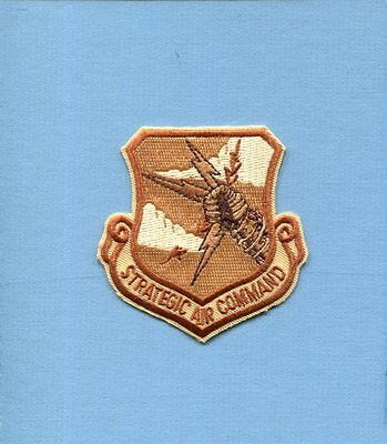 SAC STRATEGIC AIR COMMAND USAF Desert Air Force Squadron Hat Jacket Patch