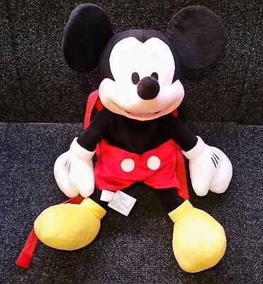 Mickey Mouse Plush Backpack ~ Disney