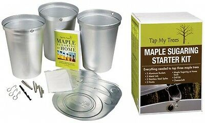 Tap My Trees Maple Sugaring Sap Home Harvesting Starter Kit