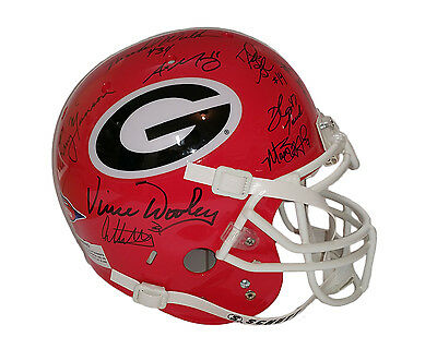 Herschel Walker Todd Gurley Larry Munson Georgia Bulldogs Signed by 26 DAWGS