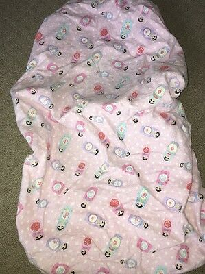 Baby Girl Fitted Bassinet Sheet.