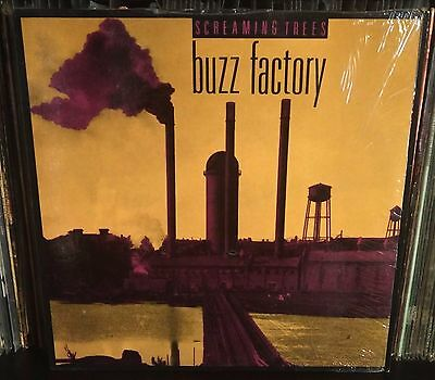 Screaming Trees Buzz Factory Lp Blue Traslucent NM Us Issue 1989 Mark Lanegan