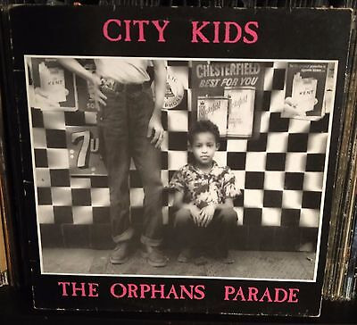 City Kids – The Orphans Parade Lp 1987 Italian issue with Inner Sleeve