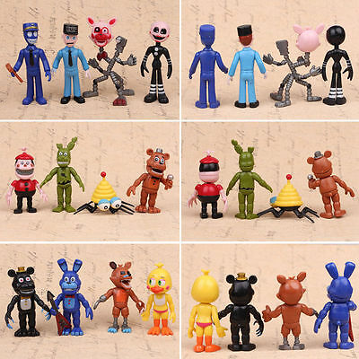 Lot of 12Pcs FNAF Five Nights at Freddy's Action Figures Toys Kids Best Gift Toy