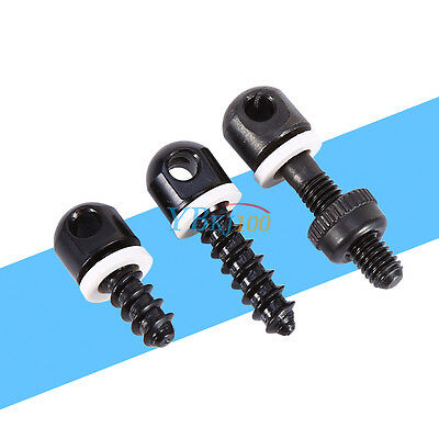 3pc Quick Detach Mounting Sling Swivel Base Gun Swivel Stud For Rifle Shotgun BT