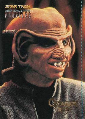 Star Trek DS9 Profiles Quark's Quips card 6 of 9