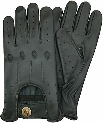 New* Top Quality Real Soft Leather Men's Driving Gloves -D507