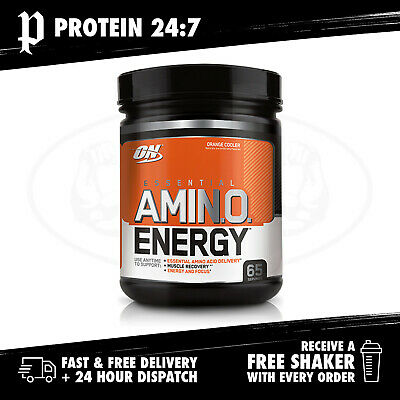 Optimum Nutrition Amino Energy - 65 Serves (Free ON Shaker)