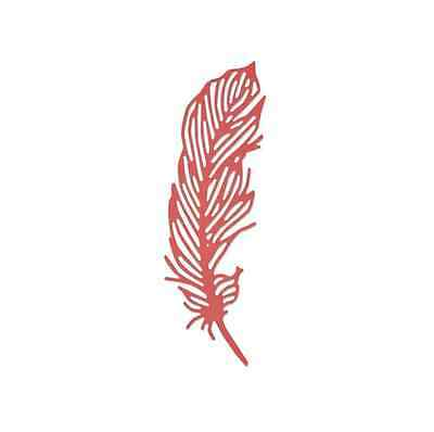 Sizzix Thinlits Die - Delicate feather 661682 Sophie Guilar