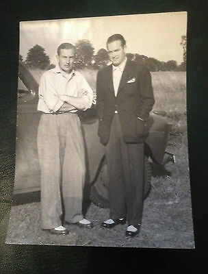 HENRY COTTON & BOB HOPE / orig photo used in 1948 book /THIS GAME OF GOLF