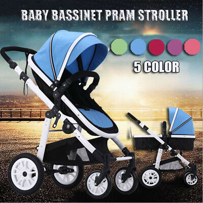 Pram travel system 4 in 1 combi baby stroller buggy child jogger push chair NEW