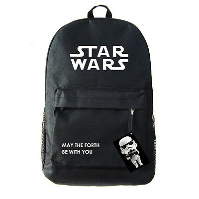 Star Wars Rogue One: A Star Wars Story Canvas backpack Bag Unisex Storm Trooper