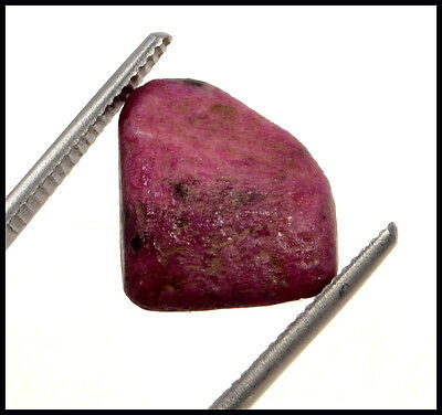 15.39 Ct Certified Natural Ruby Rough Shape Gemstone Stone No-321