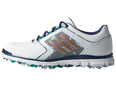 Adidas Adistar Tour Ladies Golf Shoes - White/Purple