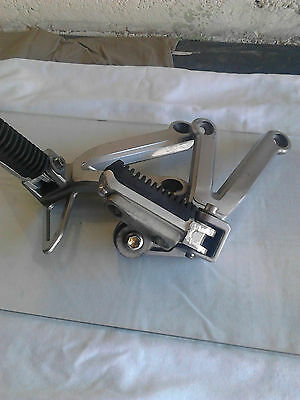 Gsf1200 Rear Foot Pegs And Hangers Footrests X2