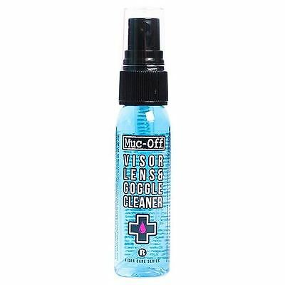 Muc-Off Motorbike Motorcycle Helmet & Visor Cleaner 30ml New
