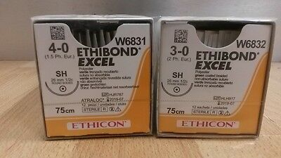 Ethibond Excel Sutures W6831 and W6832