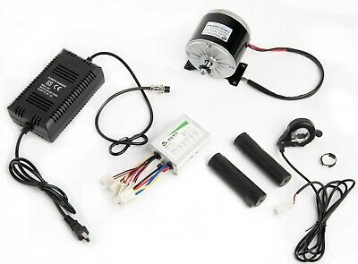 300 Watt 24 Volt electric motor kit w speed controller Thumb Throttle & charger