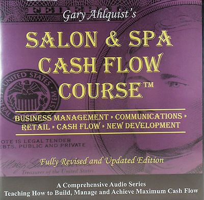 Salon & Spa Cash Flow Course, By Gary Ahlquist, 30 CD SET, With Valuation Kit!