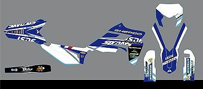 Kit deco complet sherco  300 sef-r  six days   2012 A 2015