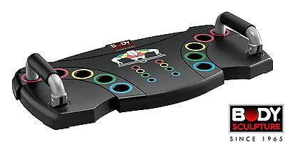 Body Sculpture Multi Position Core Push Up Balance Board (with DVD)