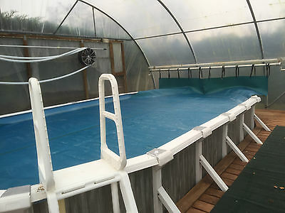 Above Ground Swimming Pool, Cover pump filter Equipment package 8x4m 4ft deep