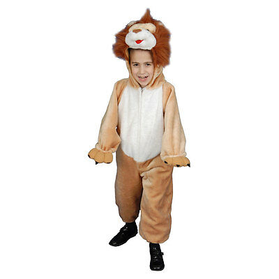 Deluxe Kids Plush Lion Costume Set By Dress Up America