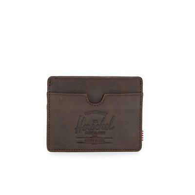 Herschel Supply Co. Charlie Leather Wallet Nubuck Leather One Size Brand New
