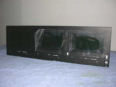 Defender 82-18305 Triple Lcd Rack Mount Security Monitor Hdmi Out IN Free S&H