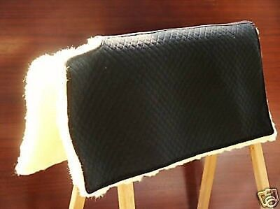 Westernpad Square made of lambskin with Cutting withers blanket Saddle cloth
