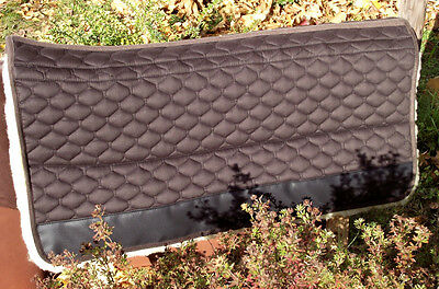 80's Lambskin Western Blanket Saddle Cloth Aufpolster Correction Pad