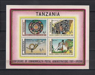 189 - TANZANIA 1981 ** MNH - Commonwealth Postal Administrations