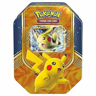 Pokemon TCG Fall Battle Heart Tin PIKACHU EX BRAND NEW & SEALED Fall 2016 RARE