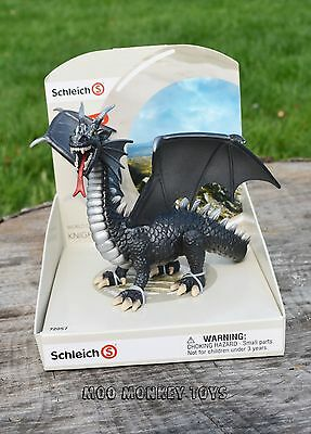 Schleich Knights #72057 Special Edition Black Dragon Collectible Toy NEW