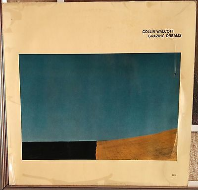 Collin Walcott ‎– Grazing Dreams Lp NM 1977 ECM Records ‎– 2301096 Germany issue