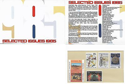Stamp Pack, Australia: 1985 Selected Issues