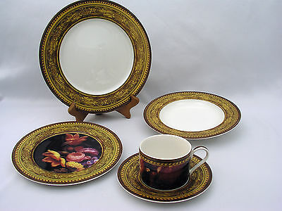 Block Raymond Waites Old Master - 5 Pc. Dinnerware Setting - Excellent