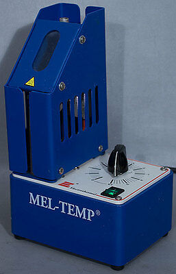 Barnstead Electrotherm 1001D/1001 Mel-Temp Capillary Melting Point Apparatus